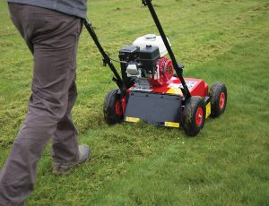 Lawn Scarification Professional Machine