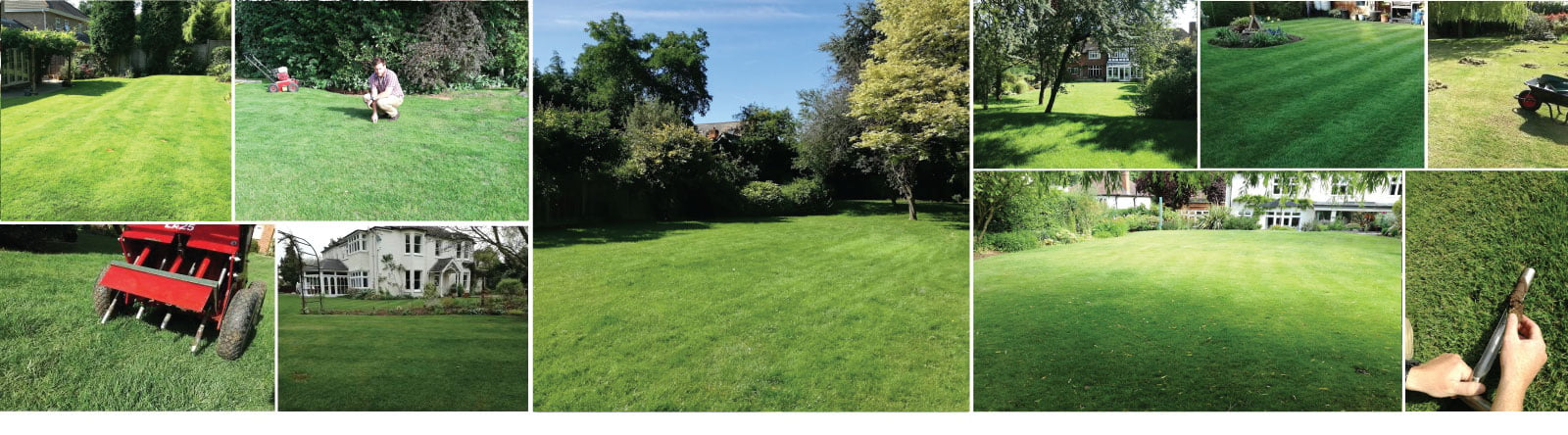 Surrey Lawn Care Customer Lawns
